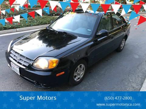 2005 Hyundai Accent for sale at Super Motors in San Mateo CA