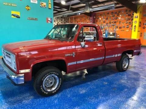 1986 Chevrolet Silverado 1500 for sale at Classic Car Deals in Cadillac MI