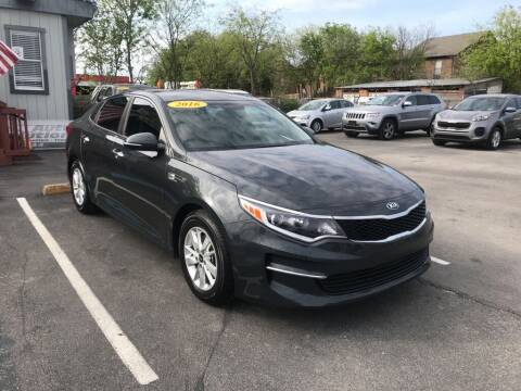 2016 Kia Optima for sale at Auto Solution in San Antonio TX