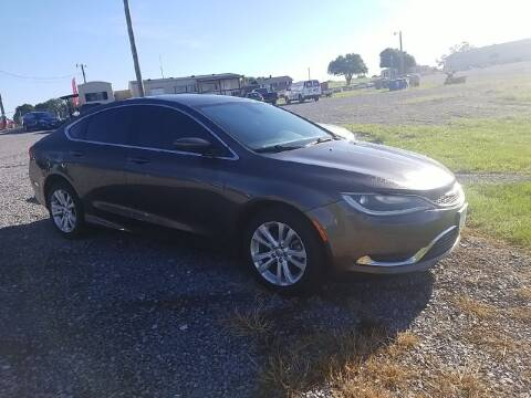 2015 Chrysler 200 for sale at Cascade Used Auto Sales in Martinsburg WV