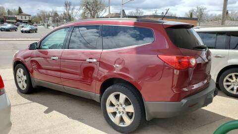 2011 Chevrolet Traverse for sale at North Metro Auto Sales in Cambridge MN