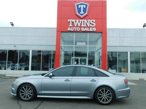 2016 Audi A6 for sale at Twins Auto Sales Inc Redford 1 in Redford MI