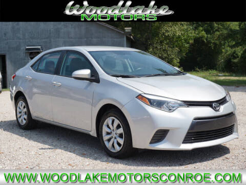 2016 Toyota Corolla for sale at WOODLAKE MOTORS in Conroe TX