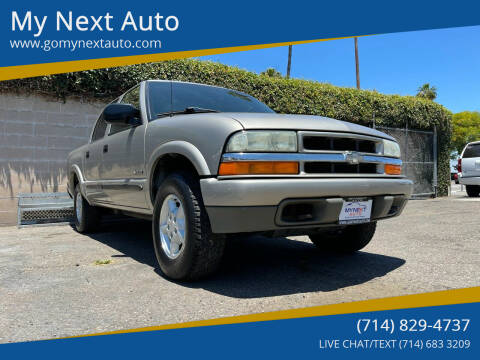 2004 Chevrolet S-10 for sale at My Next Auto in Anaheim CA