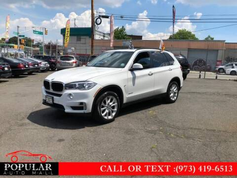 2016 BMW X5 for sale at Popular Auto Mall Inc in Newark NJ