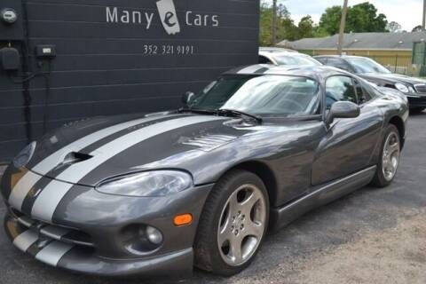 2002 Dodge Viper for sale at ManyEcars.com in Mount Dora FL
