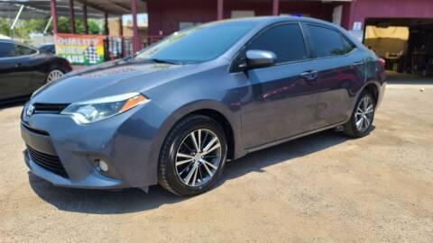 2016 Toyota Corolla for sale at Fast Trac Auto Sales in Phoenix AZ