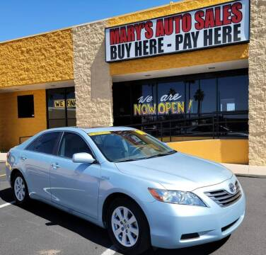 2008 Toyota Camry Hybrid for sale at Marys Auto Sales in Phoenix AZ