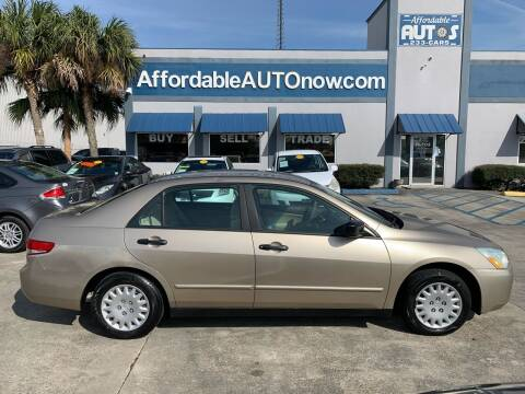 2004 Honda Accord for sale at Affordable Autos in Houma LA