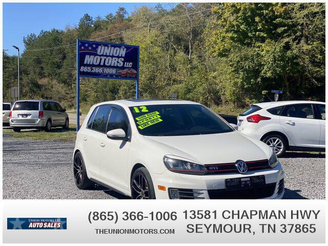 2012 Volkswagen GTI for sale at Union Motors in Seymour TN
