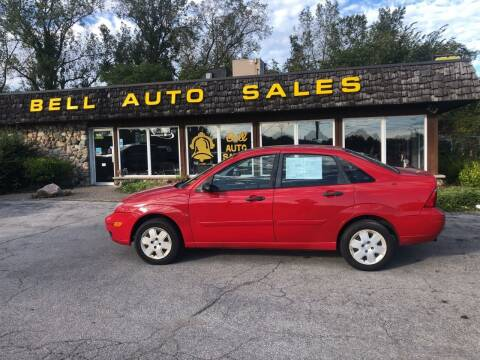 2007 Ford Focus for sale at BELL AUTO & TRUCK SALES in Fort Wayne IN