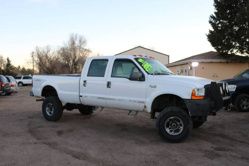 1999 Ford F-350 Super Duty for sale at Northern Colorado auto sales Inc in Fort Collins CO