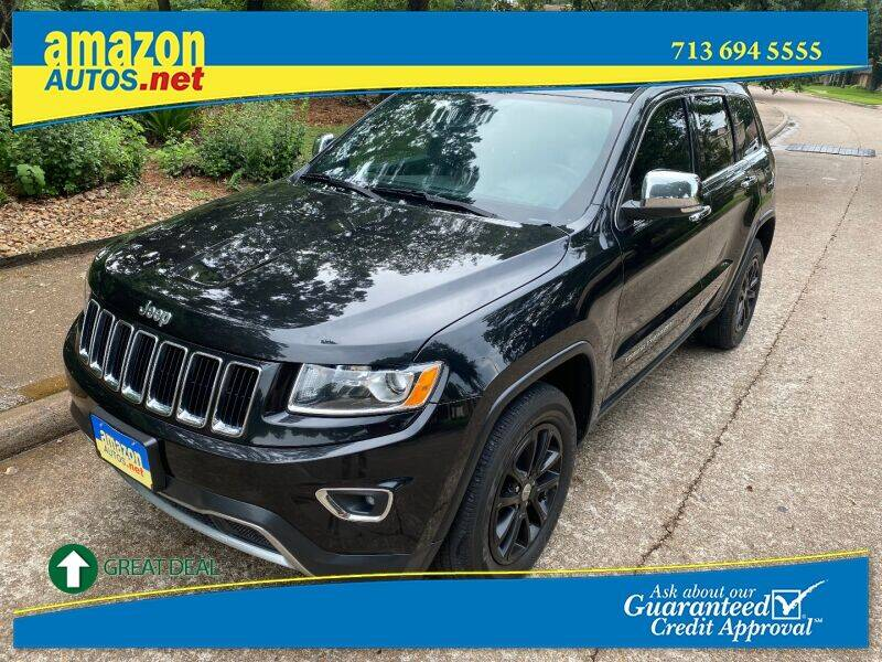 2015 Jeep Grand Cherokee for sale at Amazon Autos in Houston TX