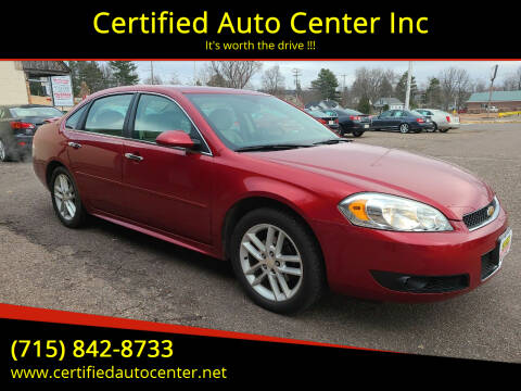 2015 Chevrolet Impala Limited for sale at Certified Auto Center Inc in Wausau WI
