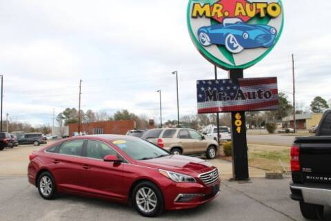 2015 Hyundai Sonata for sale at MR AUTO in Elizabeth City NC