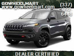 2016 Jeep Cherokee for sale at GOWHEELMART in Leesville LA