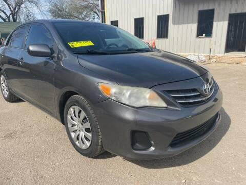 2013 Toyota Corolla for sale at Midtown Motor Company in San Antonio TX