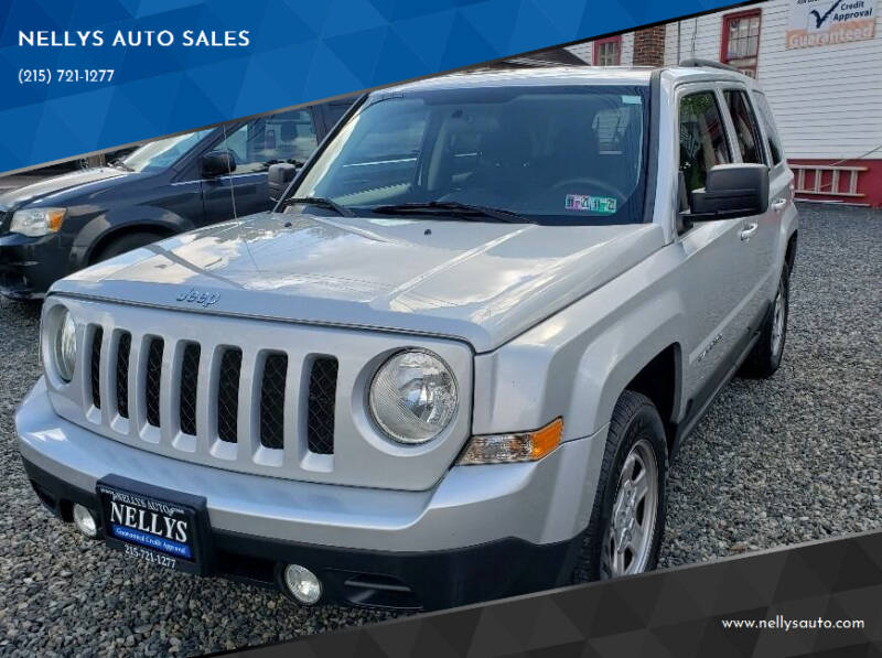 2011 Jeep Patriot for sale at NELLYS AUTO SALES in Souderton PA