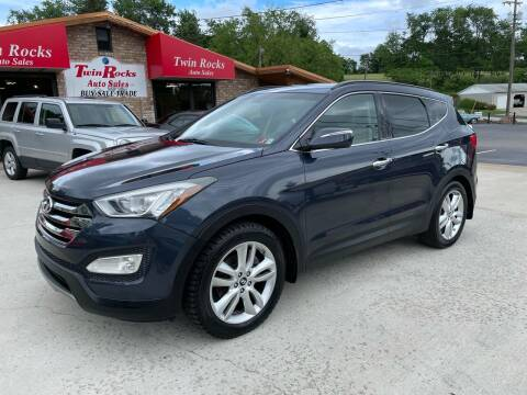 2014 Hyundai Santa Fe Sport for sale at Twin Rocks Auto Sales LLC in Uniontown PA