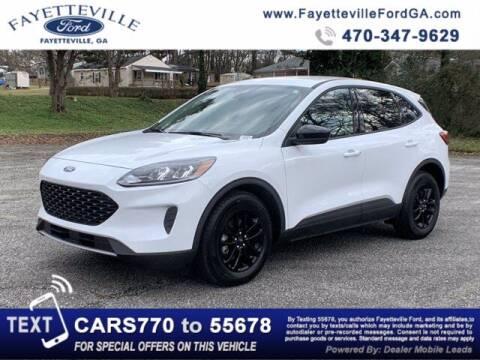 2020 Ford Escape Hybrid for sale at FAYETTEVILLEFORDFLEETSALES.COM in Fayetteville GA
