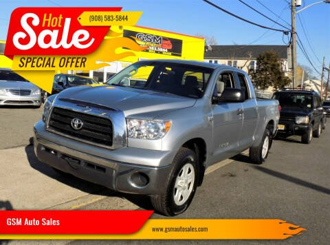 2009 Toyota Tundra for sale at GSM Auto Sales in Linden NJ
