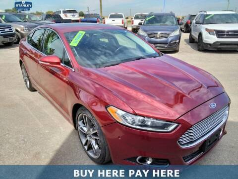 2013 Ford Fusion for sale at Stanley Direct Auto in Mesquite TX