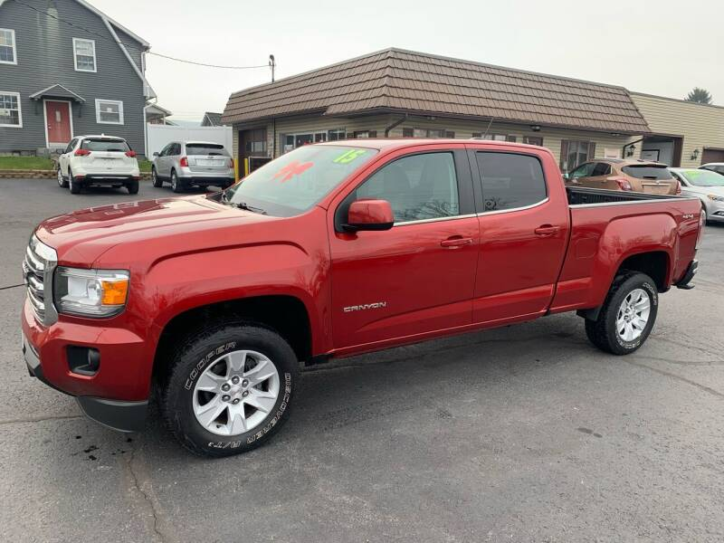 2015 GMC Canyon for sale at MAGNUM MOTORS in Reedsville PA