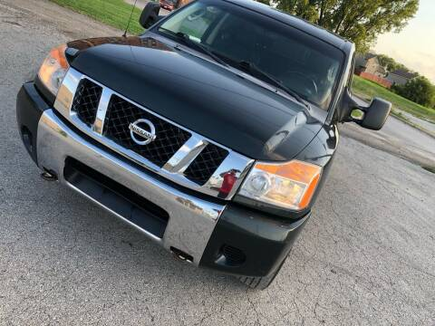 2008 Nissan Titan for sale at Supreme Auto Gallery LLC in Kansas City MO
