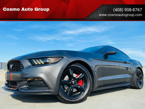 2015 Ford Mustang for sale at Cosmo Auto Group in San Jose CA