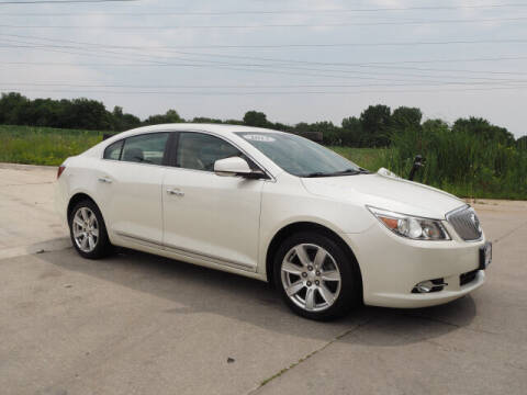 2012 Buick LaCrosse for sale at SIMOTES MOTORS in Minooka IL