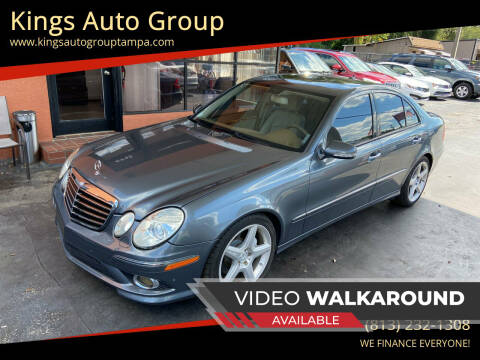 2009 Mercedes-Benz E-Class for sale at Kings Auto Group in Tampa FL