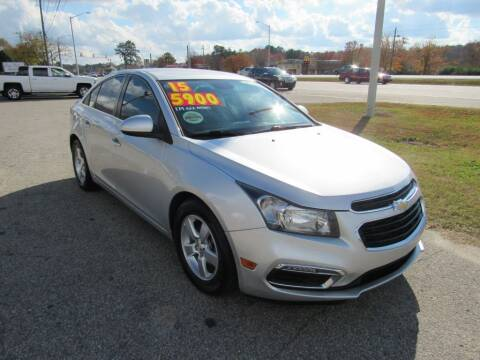 2015 Chevrolet Cruze for sale at Auto Bella Inc. in Clayton NC