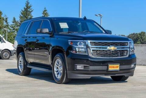 2016 Chevrolet Tahoe for sale at Chevrolet Buick GMC of Puyallup in Puyallup WA