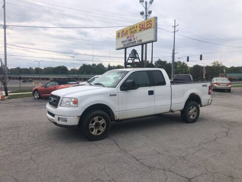 2005 Ford F-150 for sale at BELL AUTO & TRUCK SALES in Fort Wayne IN