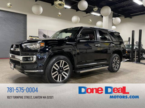 2016 Toyota 4Runner for sale at DONE DEAL MOTORS in Canton MA
