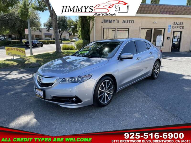 2016 Acura TLX for sale at JIMMY'S AUTO WHOLESALE in Brentwood CA