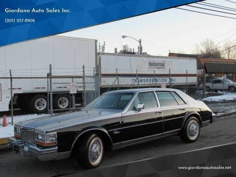 1980 Cadillac Seville for sale at Giordano Auto Sales in Hasbrouck Heights NJ