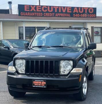 2012 Jeep Liberty for sale at Executive Auto in Winchester VA