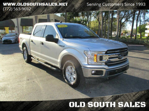 2019 Ford F-150 for sale at OLD SOUTH SALES in Vero Beach FL