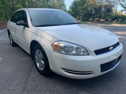 2007 Chevrolet Impala for sale at LA 12 Motors in Durham NC