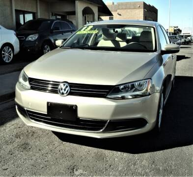 2013 Volkswagen Jetta for sale at DESERT AUTO TRADER in Las Vegas NV