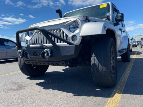 2009 Jeep Wrangler Unlimited for sale at Apple Auto Sales Inc in Camillus NY