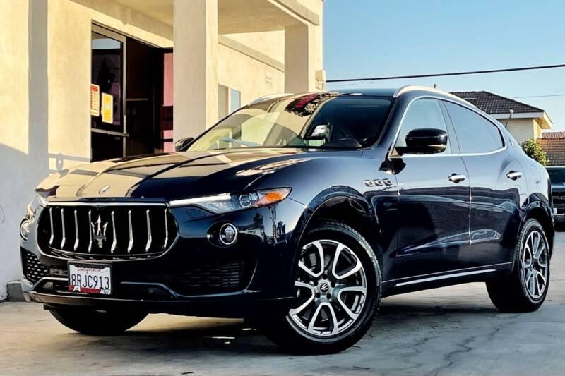 2019 Maserati Levante for sale at Fastrack Auto Inc in Rosemead CA