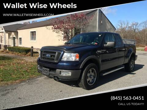 2004 Ford F-150 for sale at Wallet Wise Wheels in Montgomery NY