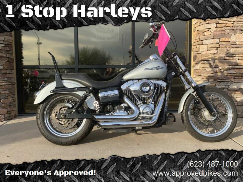 2014 Harley Davidson FXDC Super Glide for sale at 1 Stop Harleys in Peoria AZ