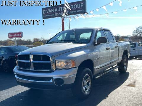 2005 Dodge Ram Pickup 1500 for sale at Divan Auto Group in Feasterville PA