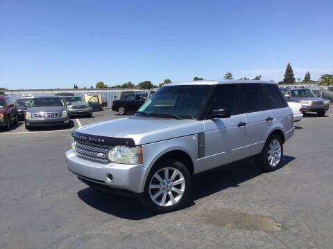 2006 Land Rover Range Rover for sale at My Three Sons Auto Sales in Sacramento CA