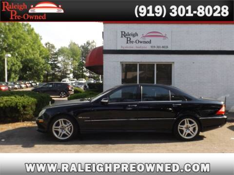 2004 Mercedes-Benz S-Class for sale at Raleigh Pre-Owned in Raleigh NC