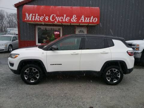 2018 Jeep Compass for sale at MIKE'S CYCLE & AUTO in Connersville IN