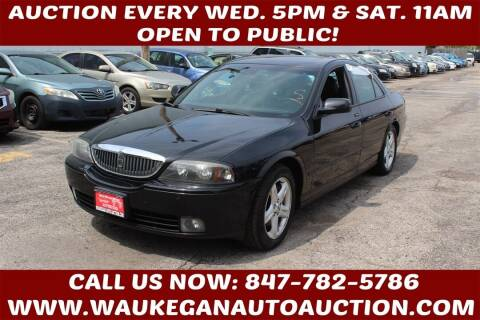 2004 Lincoln LS for sale at Waukegan Auto Auction in Waukegan IL
